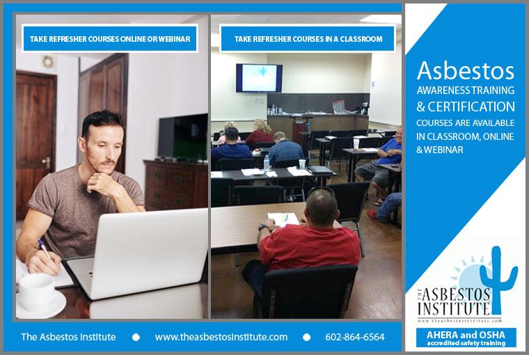 Asbestos Certification Training Online