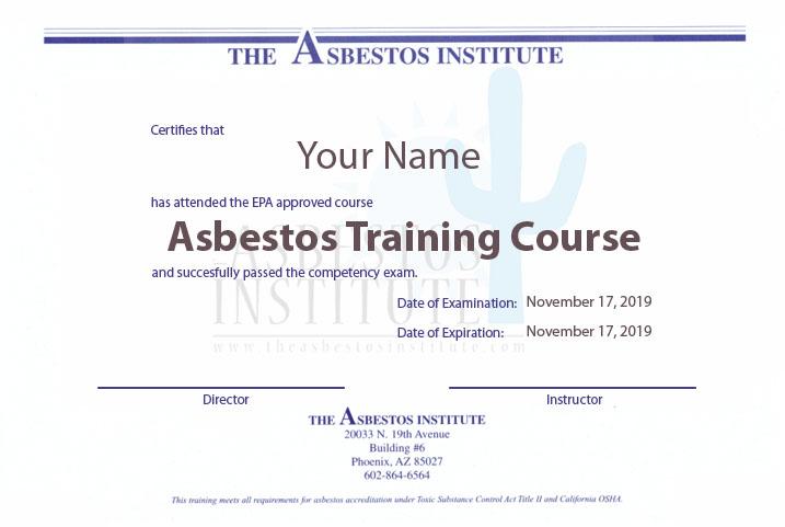 Asbestos License